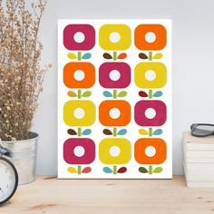 Abstract flowers kids art by ReStyleGraphic