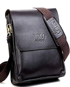f2dc53856b80 POLO Famous Brand Leather Men Bag  fashion  clothing  shoes  accessories   mensaccessories  bags (ebay link)