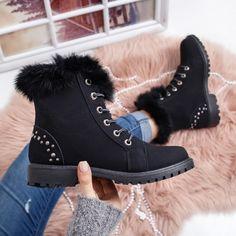 Bocanci Nesira negri imblaniti Biker, Boots, Casual, Fashion, Crotch Boots, Moda, Fashion Styles, Shoe Boot, Fasion