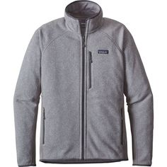 Patagonia Performance Better Sweater Fleece Jacket ($119) ❤ liked on Polyvore featuring men's fashion, men's clothing, men's activewear, men's activewear jackets and mens activewear