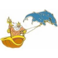 DCL Pin Trading Under The Sea - ~ King Triton and Dolphins