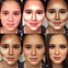 Perfect Contour Makeup. by bbooky