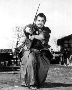 Yojimbo (1961) Famously remade as A Fistful of Dollars, Yojimbo sees Mifune play a wise samurai who plays two clans off against each other. One of many masterpieces Kurosawa made with Mifune.