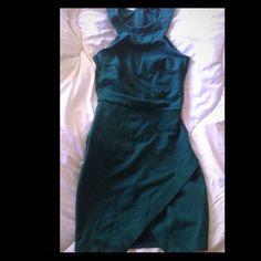 Green dress beautiful mini Green mini sexy classy dress Armani Exchange Dresses Mini