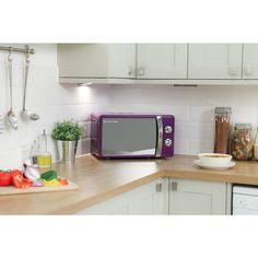 Russell Hobbs Purple Manual Microwave 17