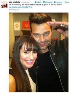 David and santanna ricky martin and naya rivera la isla bonita david and santanna ricky martin and naya rivera la isla bonita glee pinterest ricky martin naya rivera and glee m4hsunfo