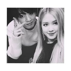 Image uploaded by a. Find images and videos about bts, jungkook and rose on We Heart It - the app to get lost in what you love. Kpop Couples, Cute Couples, Ship Quotes, Ariana Grande Music Videos, Ariana Grande Fragrance, Bts Girl, Rose Park, Blackpink And Bts, Bts Jungkook