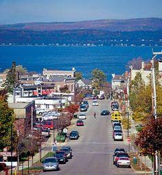 Where I live Petoskey Michigan