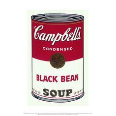 Black Bean Soup - mini print