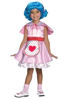 Girls Lalaloopsy Deluxe Rosy Bumps N' Bruises Halloween Costume new for 2013