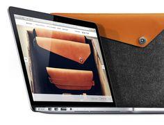 """Macbook Pro Retina 13"""" Sleeve Brown"""