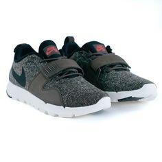 Nike Sb Trainerendor Baroque Brown Black Ivory White Crimson Trainers