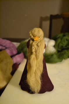 Needle felted doll tutorial