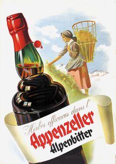 Appenzeller Alpenbitter 1948.