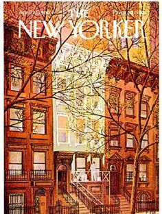"1969, ""The New Yorker"", New York brownstones.  You're not a New Yorker if you haven't read this at least once in your life.  Lol"