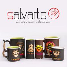 Hermosos y muy Colombianos Mugs, el mejor regalo de Amor y Amistad.  #Salvarte