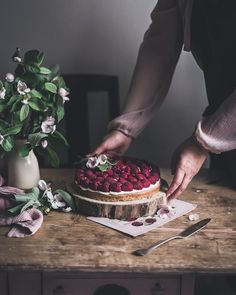 """Patricia Nascimento on Instagram: """"Hope you are having a great Sunday. It's raining and moody today but cozy and sweet inside 😋❤️ . Raspberry & rose sablé breton tart with…"""" No Bake Desserts, Dessert Recipes, Mag Pie, Summer Pie, Have A Great Sunday, Cake Photography, Seasonal Food, Pie Dessert, Spring Recipes"""