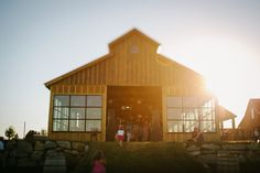 Love The Windows On This Barn Washington Wedding
