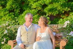 Summer time in our Herb Garden #weddings