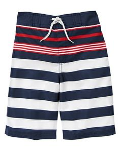 Flag Swim Trunks from Gymboree on Catalog Spree, my personal digital mall.