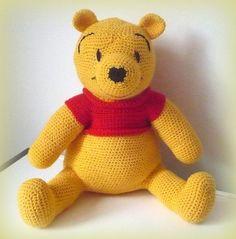 Crochet Winnie the Pooh by CrochetlandRV on Etsy