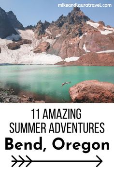 11 of the best adventures for Central Oregon. If you plan on visiting Bend, Oreg. - 11 of the best adventures for Central Oregon. If you plan on visiting Bend, Oregon this summer, add these epic activities to your list of things to do. Oregon Road Trip, Bend, Central Oregon, Oregon Travel, Oregon Coast, Travel Usa, Oregon Falls, Oregon Camping, Medford Oregon