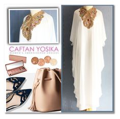 """""""caftanyosika.com"""" by aida-nurkovic ❤ liked on Polyvore featuring Federation and Urban Decay"""