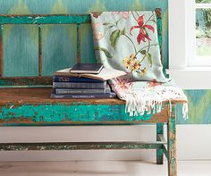 """Charleston Home Wallpapers - Jaima Company.Almond, Coral,Aqua & Lime  This is a specialty string dimensional wallpaper.  Gravure printed-Pre-trimmed-Strippable-Unpasted  Repeat is 21"""" (53cm) H x 20.5"""" (52cm) Wide Straight MatchThis also has a matching fabric. Always buy from a local independent design center for the best advice and service. www.perspectives-usa.com"""