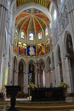 Catedral de la Almudena, Madrid, España