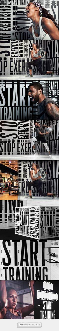 Stop Exercising - SouthSouthWest. Branding & design, Melbourne. - created via https://pinthemall.net