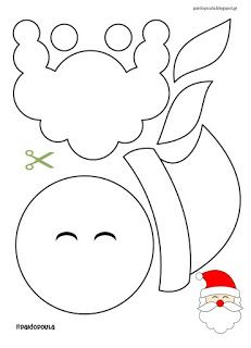 Activities with Santa Claus The Effective Pictures We Offer You About christmas signs A quality picture can tell you many things. Christmas Worksheets, Christmas Activities, Christmas Crafts For Kids, Christmas Art, Christmas Projects, Holiday Crafts, Santa Crafts, Christmas Stencils, Christmas Templates