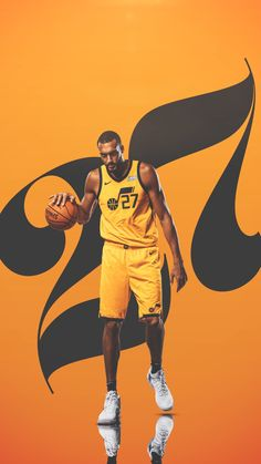Utah Jazz - Rudy Gobert The Effective Pictures We Offer You About Utah road trip A quality picture can tell you many things. You can find the most beautiful pictures that can be presented to you about Jazz Basketball, Basketball Players, Rudy Gobert, Lebron James Lakers, Kobe Bryant Pictures, Nba Pictures, Sports Graphic Design, Soccer Poster, Sports Graphics