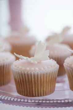 cupcakes con farfalline