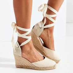 2296ab489063 Women Flocking Wedge Sandals Casual Lace Up Shoes  sandals  slippers  shoe   women