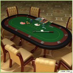 Table Casino Texas Holdem Poker