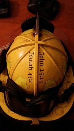 John 1513 Fire Helmet Vinyl by thesouthernbrunette1 on Etsy, $3.50 #Fire #Firefighting #Firefighter