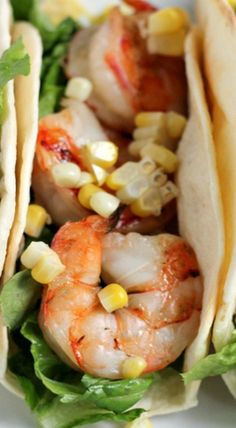 Grilled Shrimp Tacos with Spicy Mexican Crema