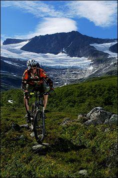Norway mountain biking.  blog with info.