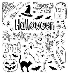 halloween doodles - Bing Images