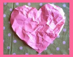 Wrinkled Heart activity to talk about bullying - good activity for No Name Calling Week