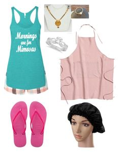 """""""Pancake Brunch Party- Preston"""" by jporter2 ❤ liked on Polyvore featuring Dorothy Perkins, Allurez and Havaianas"""