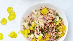 Barley, Fennel, and Beet Salad Recipe   Bon Appetit