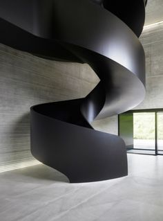 Ideas Black Stairs Modern Stairways Staircase Design For 2019 Stairs Architecture, Architecture Details, Interior Architecture, Interior Design, Black Architecture, Chinese Architecture, Futuristic Architecture, Modern Stairs, Stair Steps