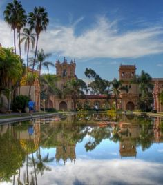 Balboa Park in San Diego, California is one of the locations on Google Street View with ambient sound.