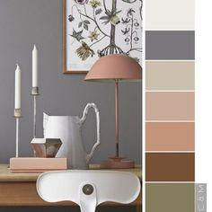 New house colors interior pallets colour Ideas Bedroom Color Schemes, Bedroom Colors, Colour Schemes, Color Harmony, Color Balance, Home Decor Inspiration, Color Inspiration, Colour Pallete, Home Staging