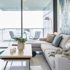 Mr. Nakata was so happy with his #interior #decoration from #BoConcept in #Tokyo, that when he moved to #Singapore, he called us again – this was the result. #design #interiordesign #lifestyle #home #living #space #earthcolors #urban