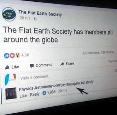 16 Flat Earth Memes The Government Wants Banned - Humor Culinario Memes Humor, Witty Quotes Humor, Funny Quotes, Funny Humor, Random Humor, Ecards Humor, Humor Mexicano, Stupid Funny Memes, Funny Relatable Memes
