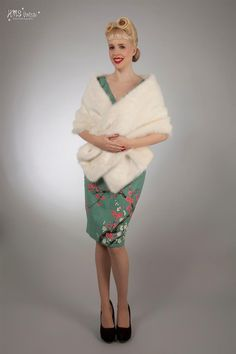 Victory Parade, dresses for occasions. Made in England only from natural fibres. Quirky prints in retro styles Sizes 6 - 20 Faux Fur Shrug, Faux Fur Stole, Victory Parade, Occasion Dresses, Hand Stitching, Victorious, Retro Fashion, Vintage Style, Wraps