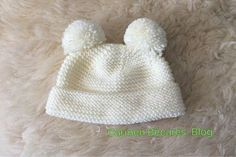 Discover thousands of images about Ideas que mejoran tu vida Baby Hats Knitting, Knitting For Kids, Baby Knitting Patterns, Baby Patterns, Knitted Hats, Crochet Baby, Knit Crochet, Tricot Baby, Manchester