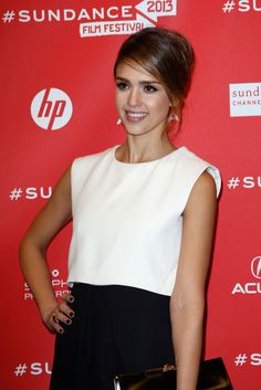 Jessica alba a c o d premiere at sundance film festival january